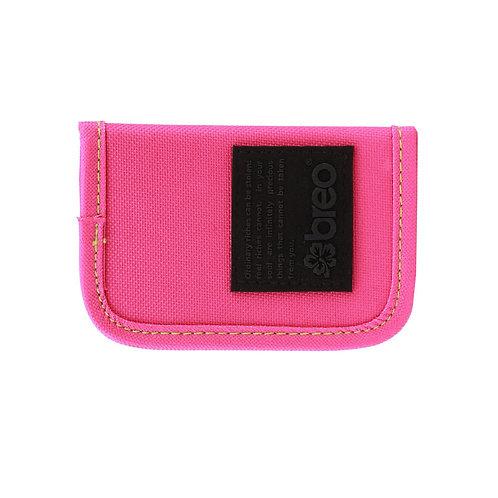 Breo Kredit Canvas Wallet - Pink