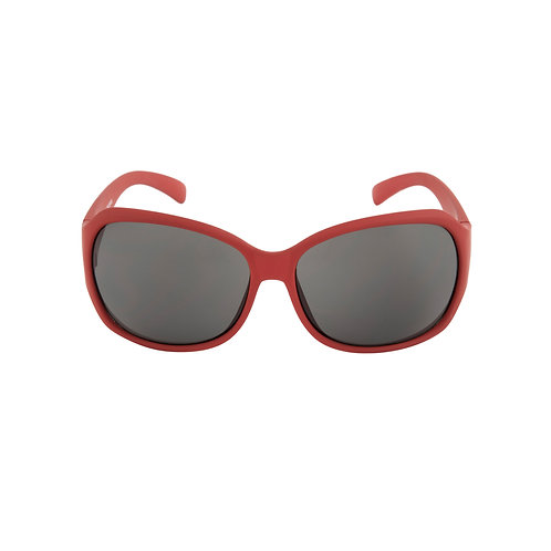 Breo Flow Rubber Sunglasses - Red