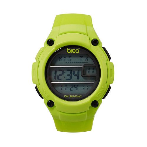 Breo Zone Digital Watch - Lime