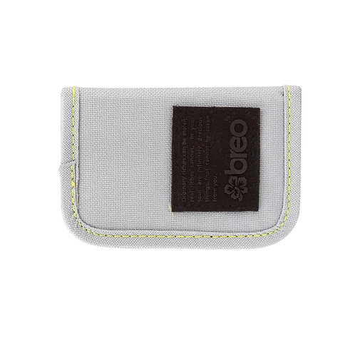 Breo Kredit Canvas Wallet - Grey