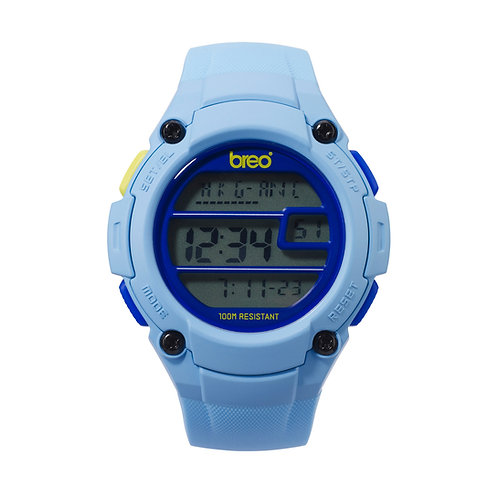 Breo Zone Digital Watch - Light Blue