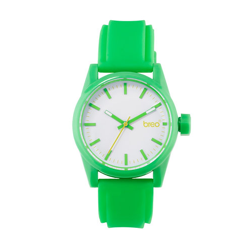 Breo Polygon Watch - Green