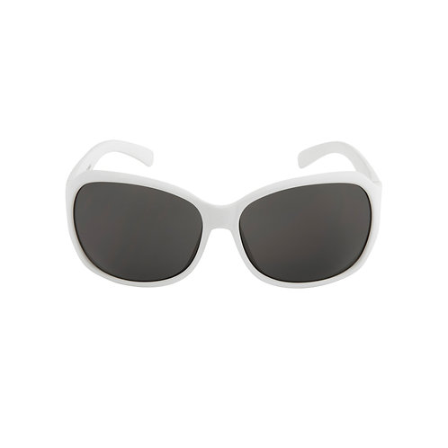 Breo Flow Rubber Sunglasses - White