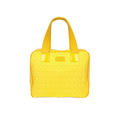 malc&andi Large Slouch Handbags -Daisy Yellow