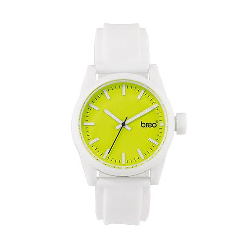 Breo Polygon Watch - White