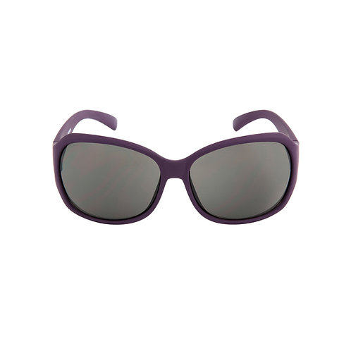 Breo Flow Rubber Sunglasses - Deep Purple