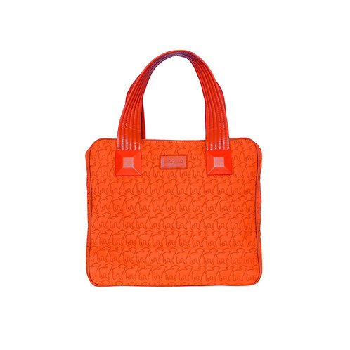 malc&andi Large Slouch Handbags - Vivid Orange