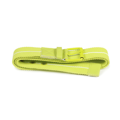 Breo Buckle Belt - Lime Green