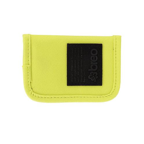 Breo Kredit Canvas Wallet - Lime