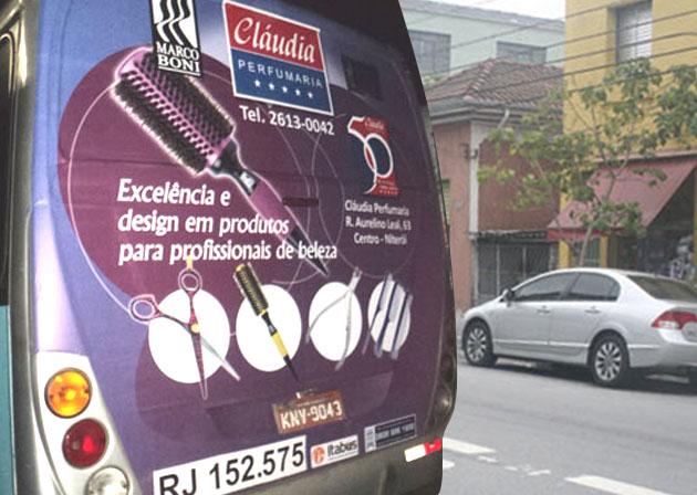 BACKBUS CLÁUDIA PERFUMARIA