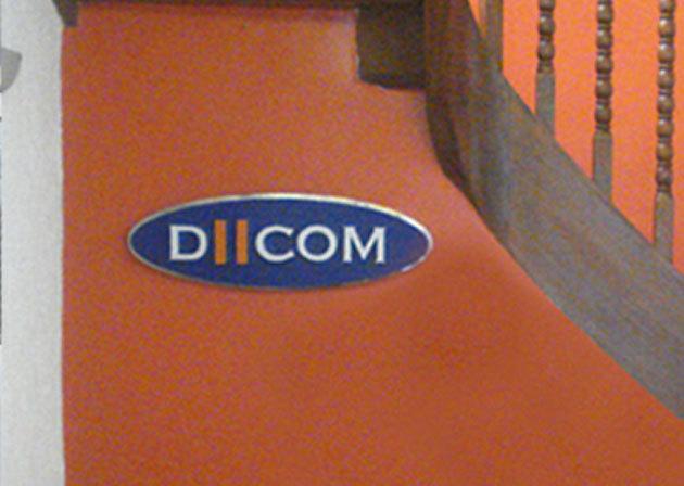 Letreiro interno Dicom II