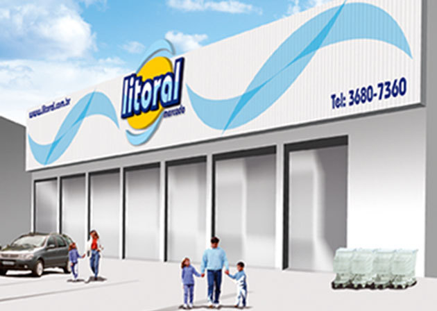 Projeto Letreiro Litoral Mercado