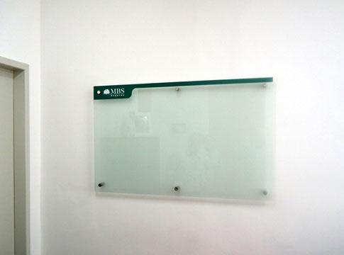 Quadro de vidro MBS