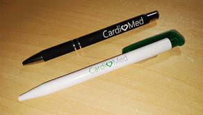 CANETAS DA CARDIOMED