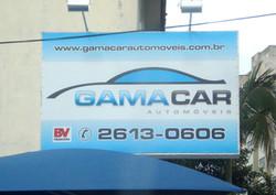 Letreiro Gama Car
