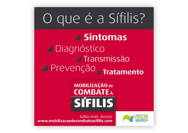 Post Instagram Campanha Sífilis