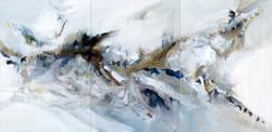 Triptyque 2 - 390 x 195 cm -