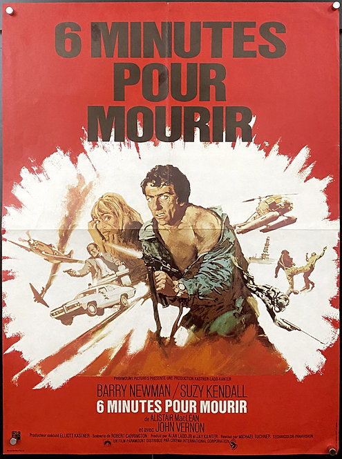 Fear Is the Key (1972) Six Minutes Pour Mourir