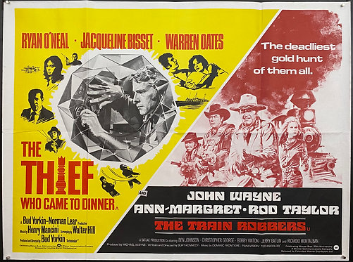 The Thief Who Came To Dinner / The Train Robbers