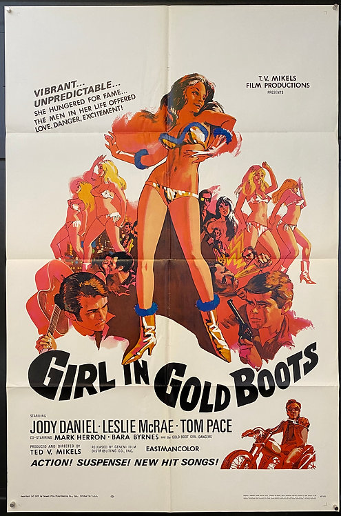Girl In Gold Boots (1968)