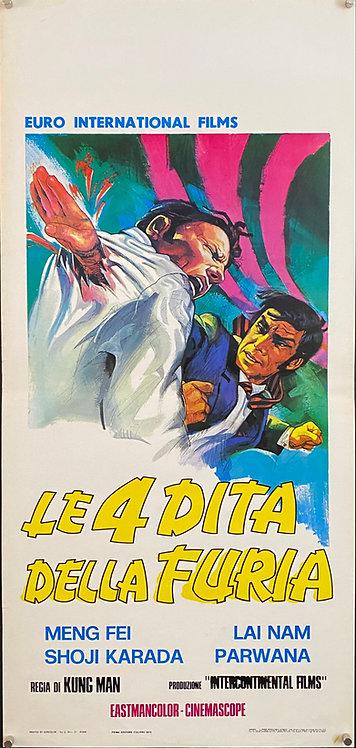 Le 4 Dita Della Furia - Five Fingers of Death (1972)