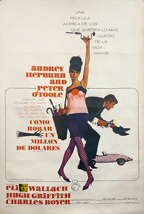 How To Steal A Million (1966) Como Robar Un Millon Des Dolares