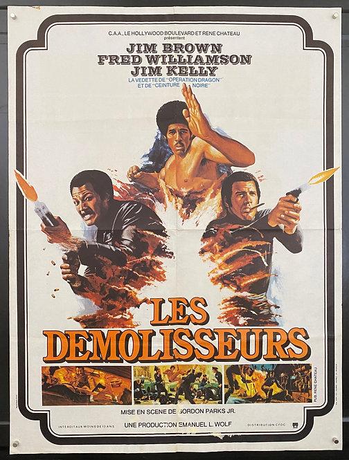Three The Hard Way (1974) Les Demolisseurs