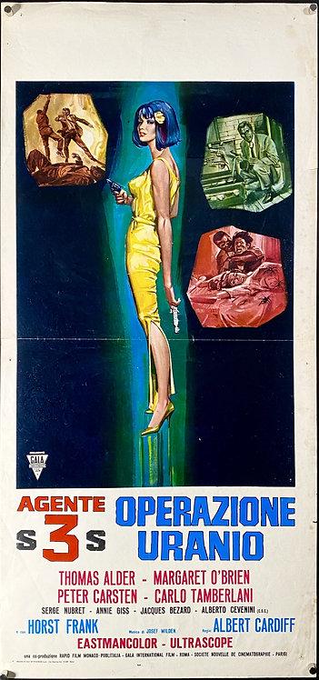 13 Days to Die (1965) Agente S3S: operazione Uranio
