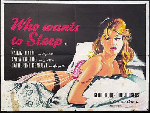 Who Wants To Sleep