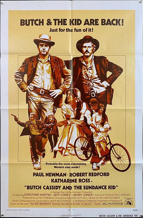Butch Cassidy And The Sundance Kid  (1973R)