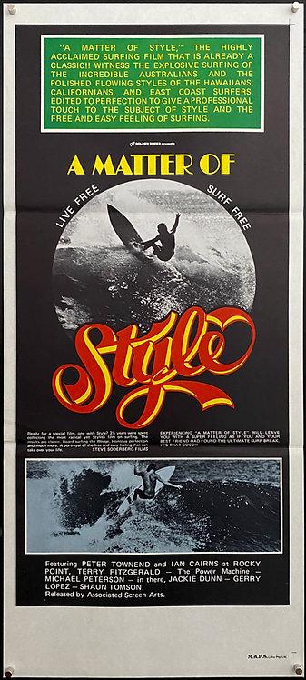Matter Of Style (1976)