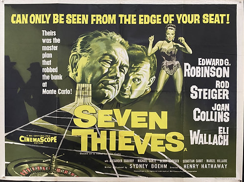 Seven Thieves (1960)