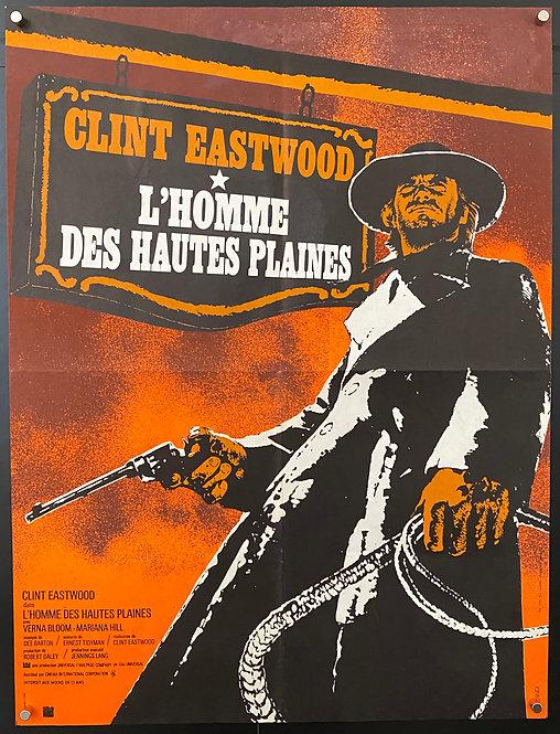 The High Plains Drifter (1973) L'Homme Des Hautes Plaines