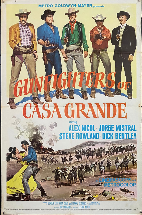 Gunfighters Of The Casa Grande (1965)