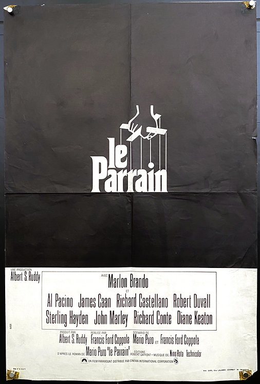 The Godfather (1972) Le Parrain