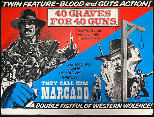 40 Graves For 40 Guns/They Call Him Marcado (1971)