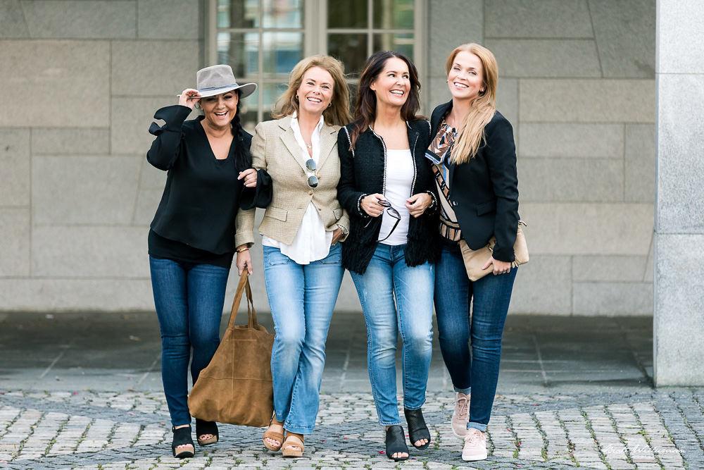 Gruppebilde i bevegelse gir fine dynamiske bilder