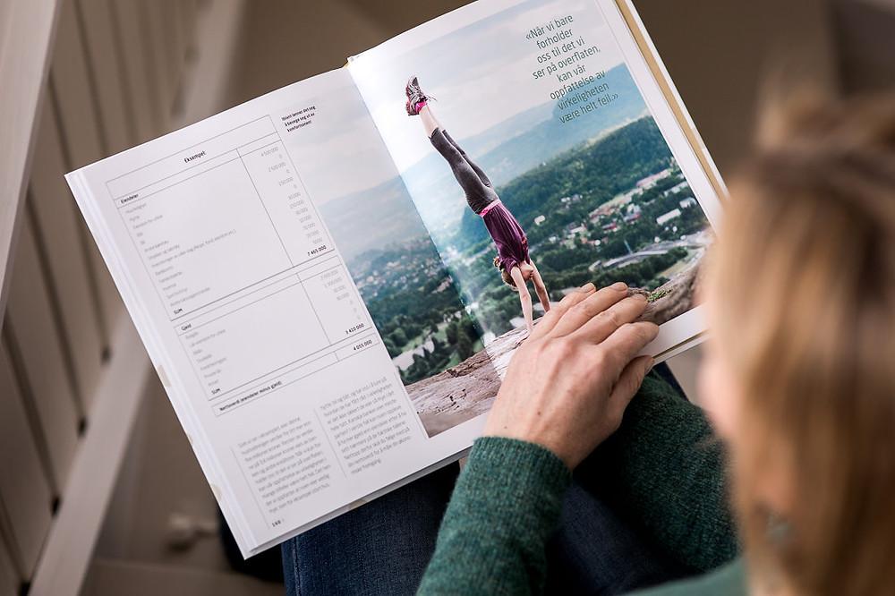 """Boka """"Penger som varer lenger"""" Foto: Beate Willumsen"""