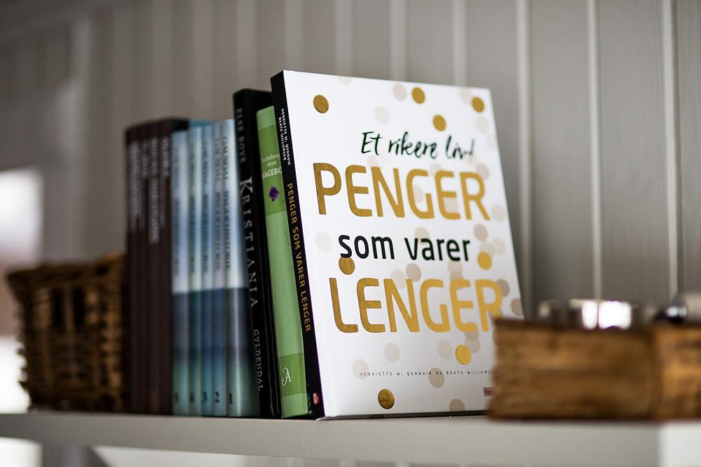 """Boka """"Penger som varer lenger"""" - Foto: Beate Willumsen"""