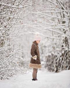 Barnefotografering ute om vinteren_Fotograf Beate Willumsen