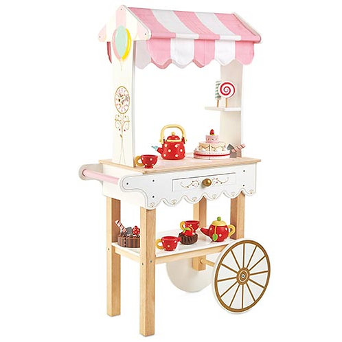 Le Toy Van – Tea & Treats Wooden Trolley