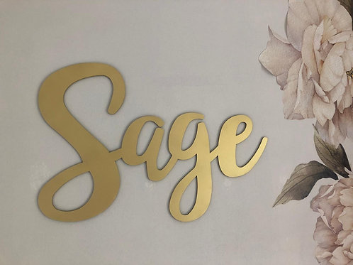 NAME PLATE - 60 CMS
