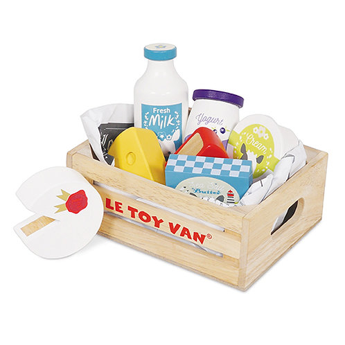 Le Toy Van – Cheese & Dairy Market Crate