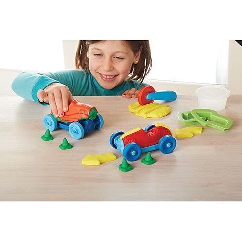 Green Toys – Race Car Maker Dough Set