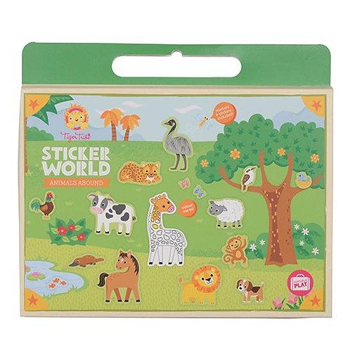 Tiger Tribe – Sticker World – Animals Abound