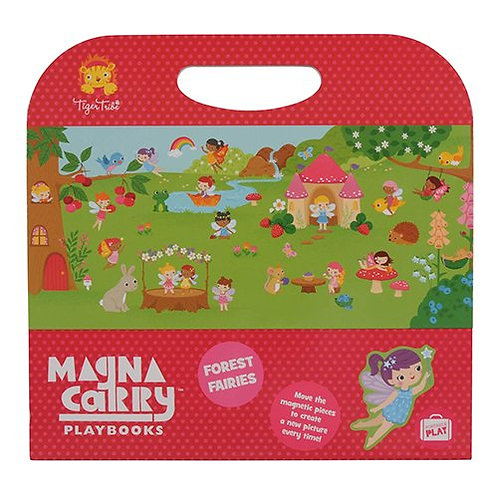 Tiger Tribe – Forest Fairies Magna Carry Set