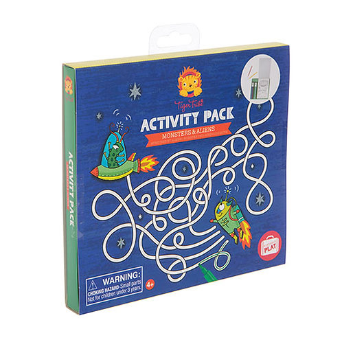 Tiger Tribe – Activity Pack – Monsters & Aliens