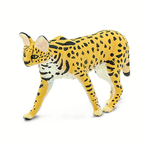 Safari Ltd – Serval (Wild Safari Wildlife) 100237