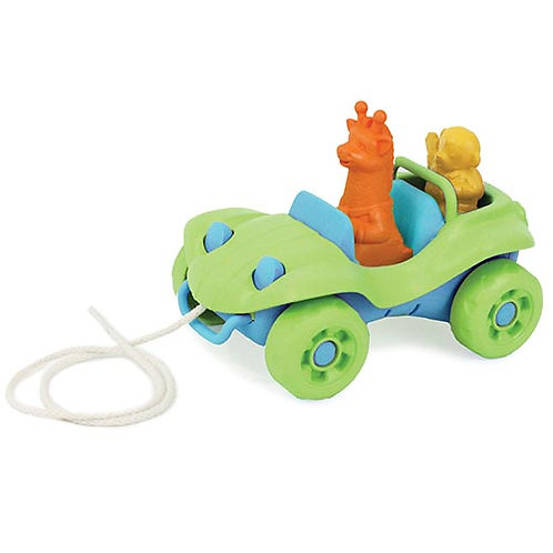 Green Toys – Dune Buggy Pull Toy (Green)
