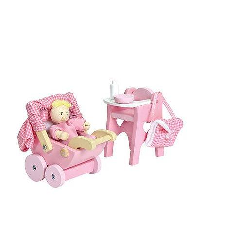 Le Toy Van – Wooden Nursery Set